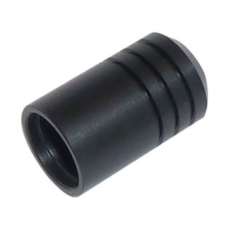 Quick Coupler Plug Full Cover Cap - Black