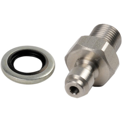 "1/8"" BSP Stainless Steel High Pressure Fill Valve. Serviceable internals."
