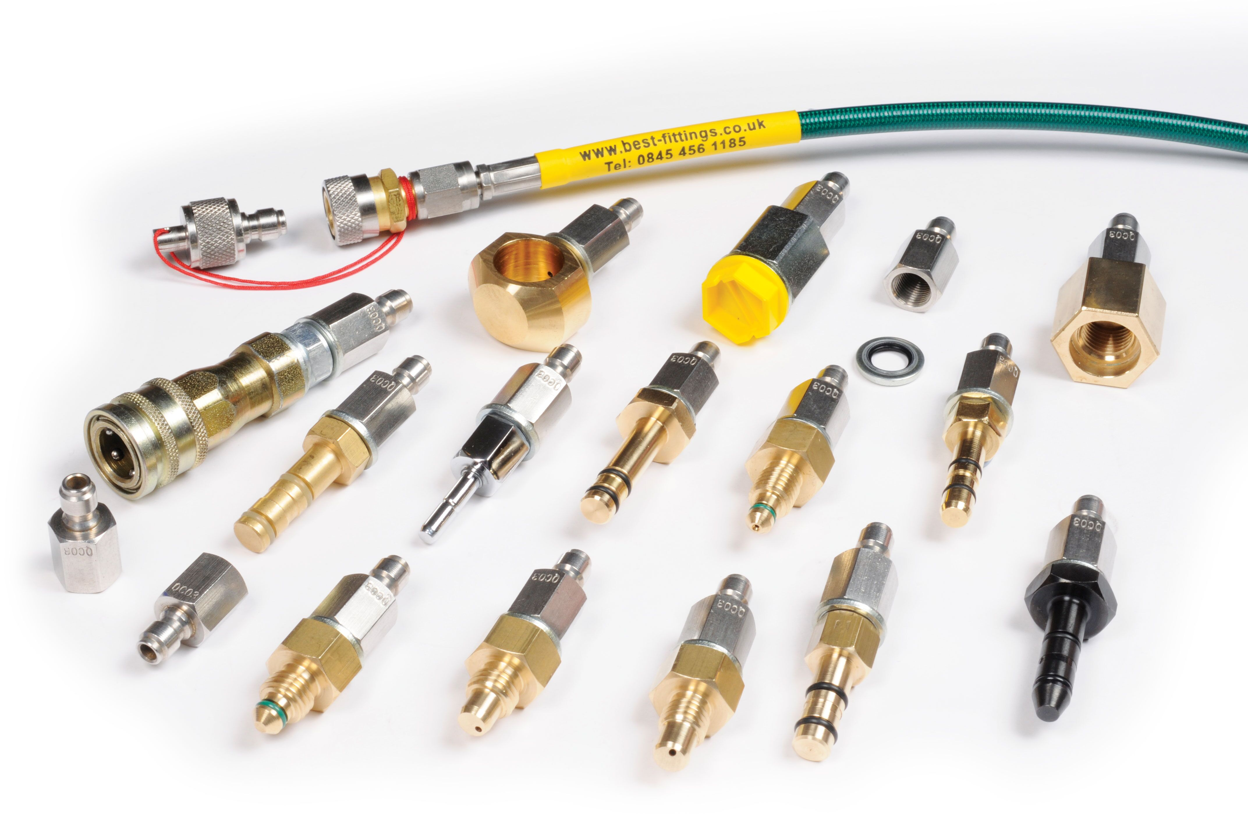 BEST Fittings Quick Coupler Starter Kits Bundles with EXTRA Plugs SAVE MONEY